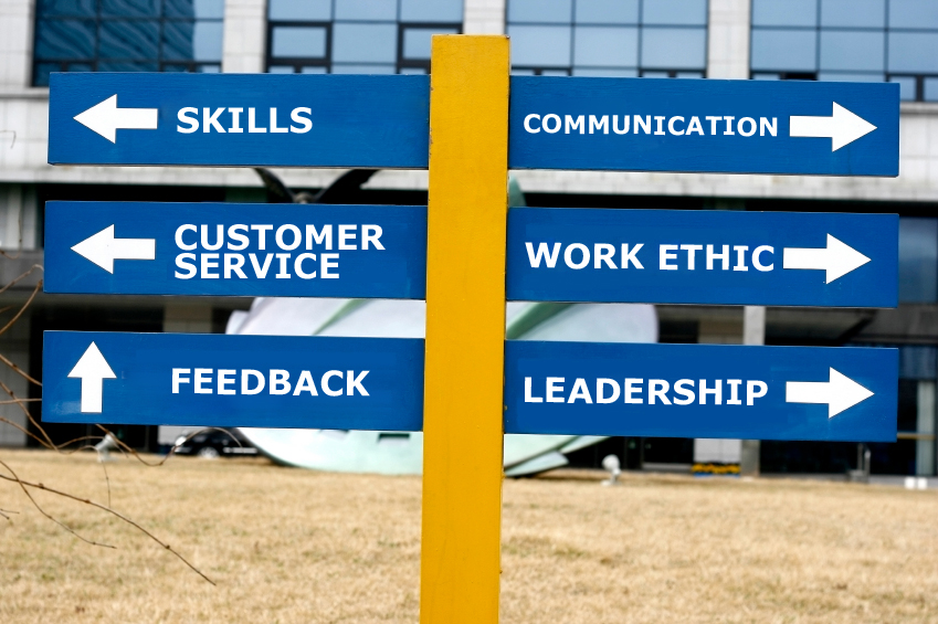 Signpost - Skills for the future leader