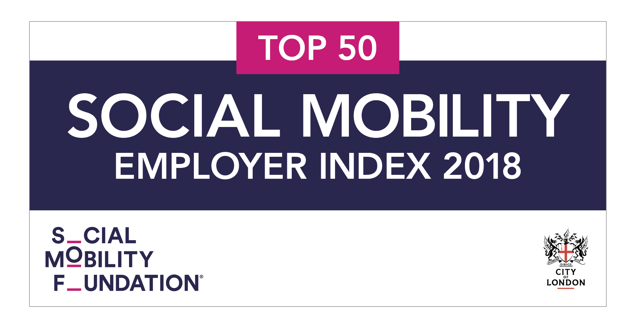 Enterprise ranked once again as a Top 10 Social Mobility Employer