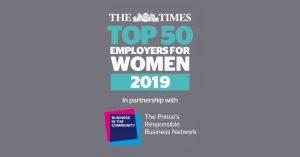 Top Employer for Women 2019 Award