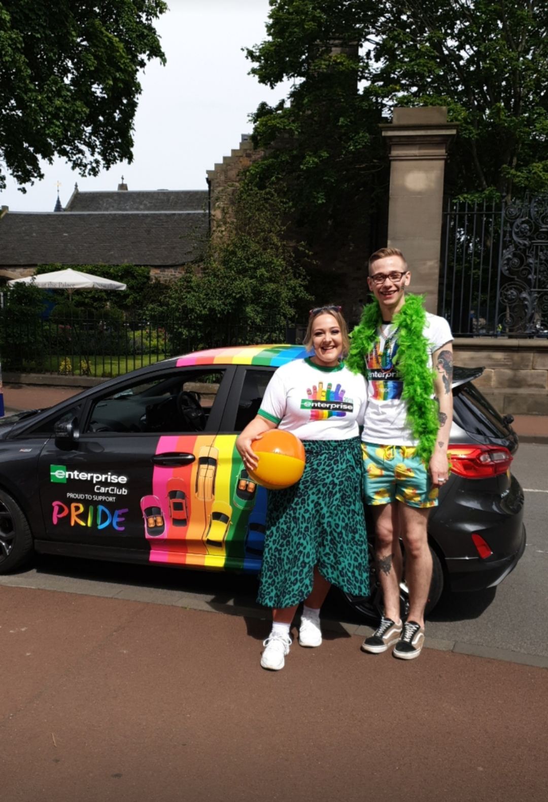 Our LGBTQ colleague Dylan takes PRIDE in his achievements