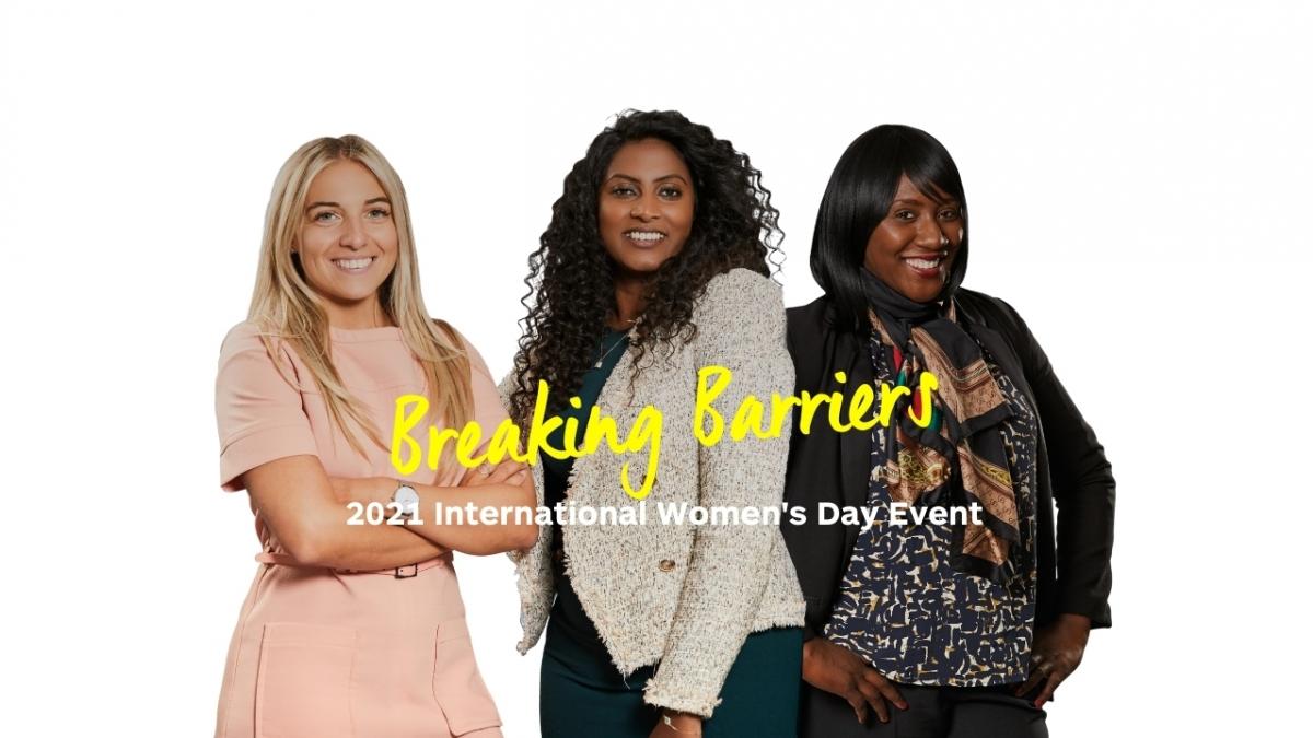 Enterprise Rent-A-Car - 2021 International Women's Day Event - Breaking Barriers