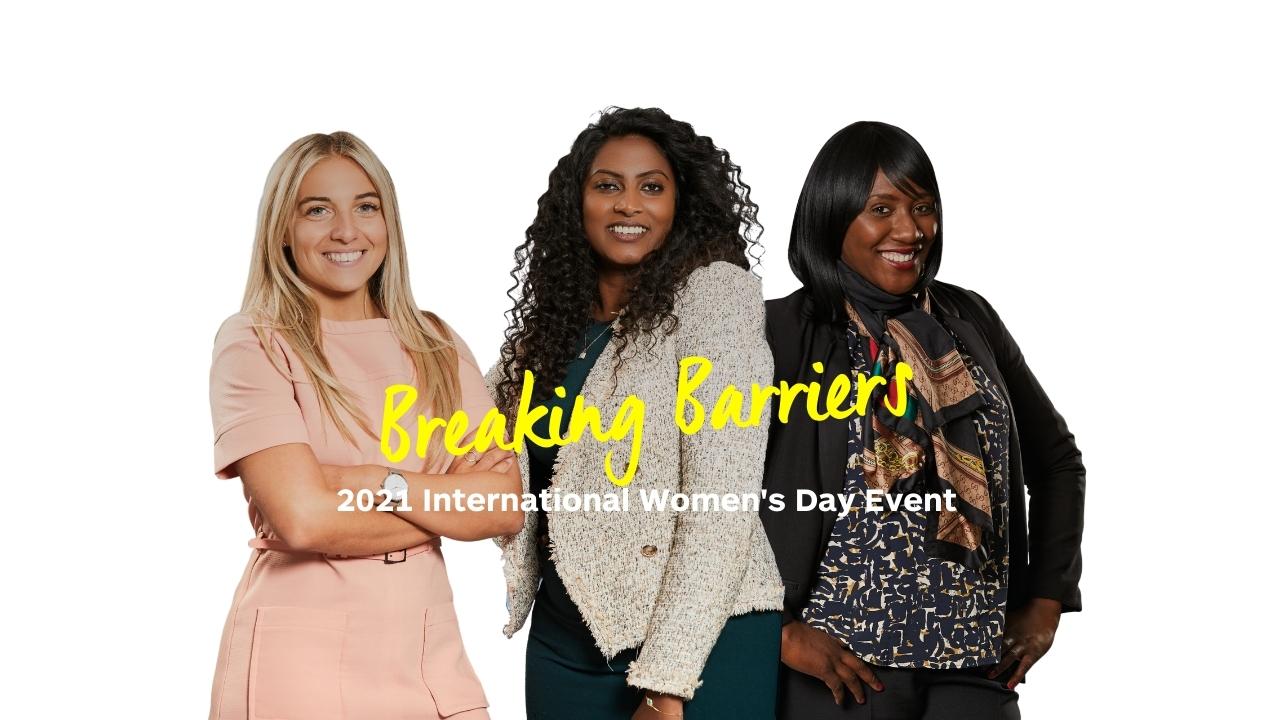 Breaking Barriers - International Women's Day 2021 Event